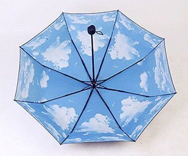 cloud umbrella underneath