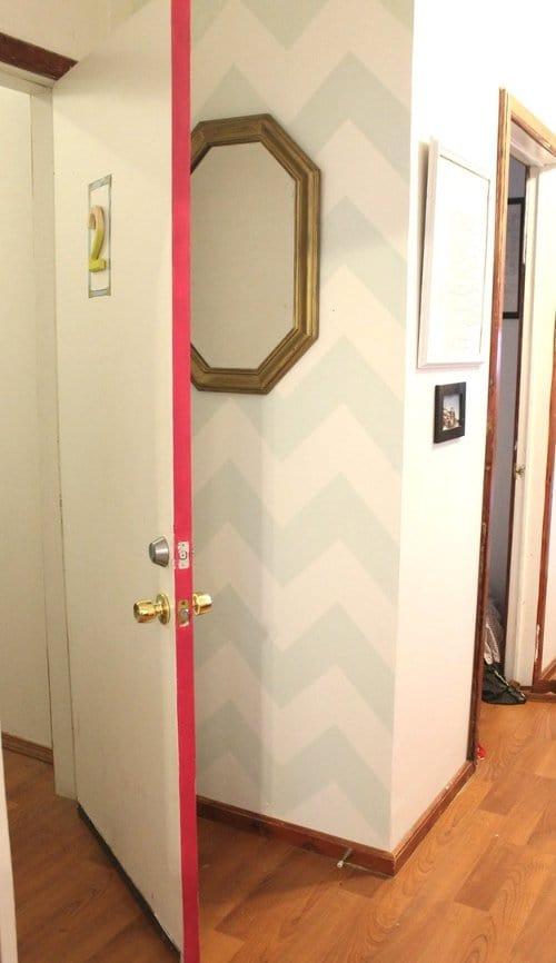 color pop painting doors