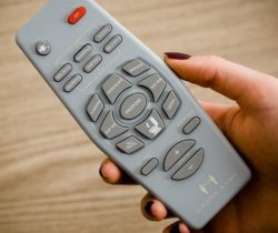 control a man remote control grey