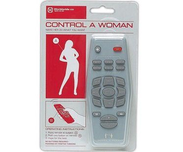 control a woman remote control pack