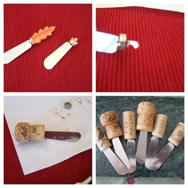 cork knife handles