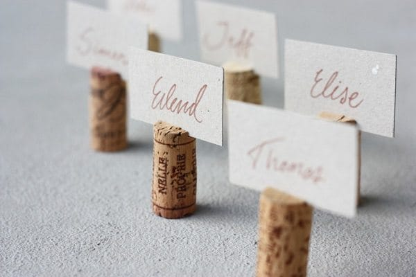 cork name tags