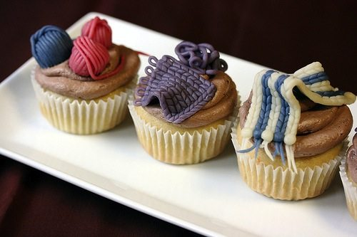 Knitting Party Theme : Creative craft themed cake and dessert ideas