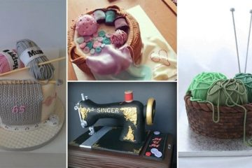 craft themed cakes