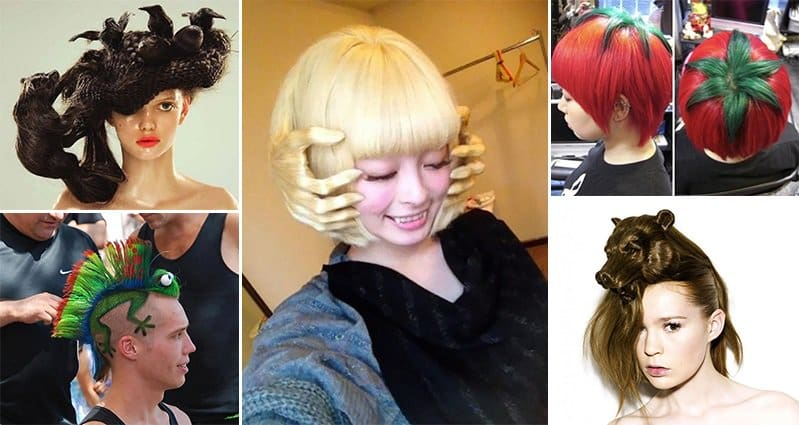 15 crazy but fun hairstyles you wont believe are real crazy hairstyles urmus Gallery