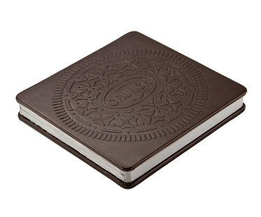 cream cookie notebook