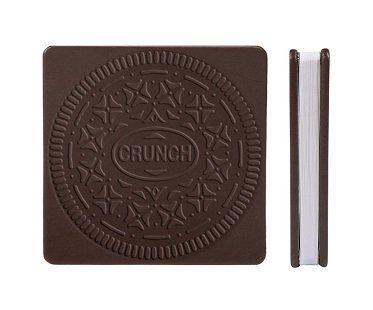 cream cookie notebook front