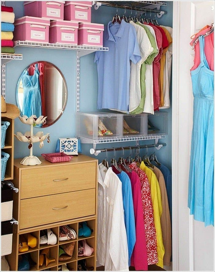 cubbies storage closet