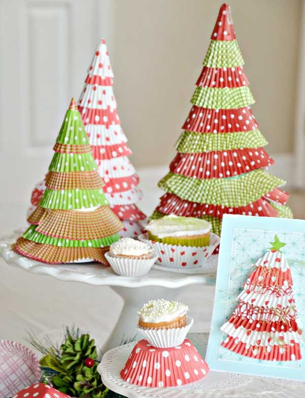 cupcake-liner-christmas-trees
