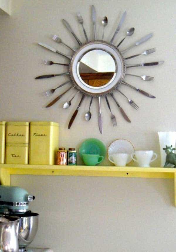 cutlery mirror