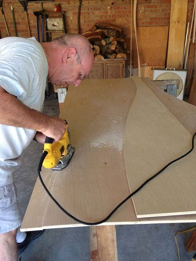 cutting panels
