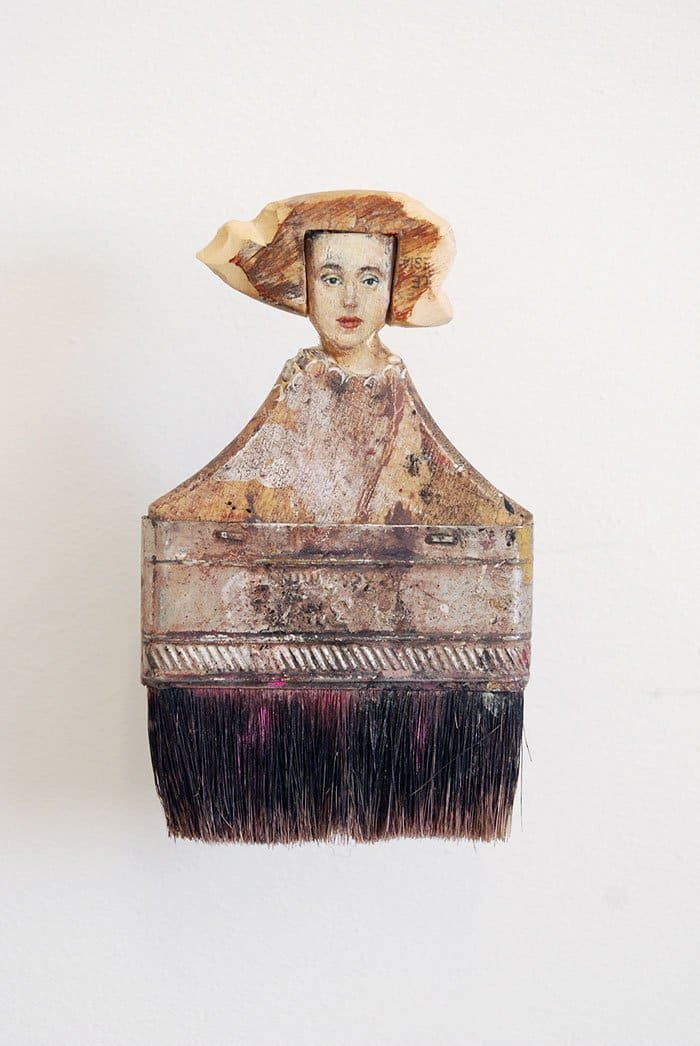 dark paintbrush lady rebecca szeto