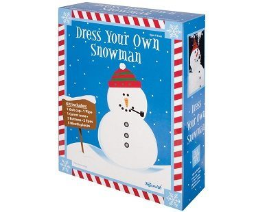 dress your snowman kit box