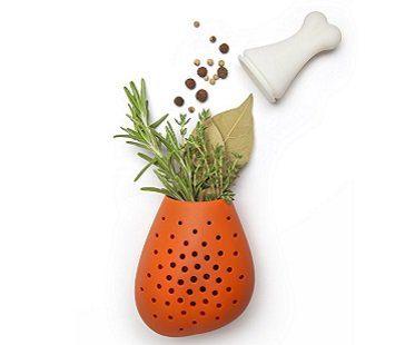drumstick herb infuser inside