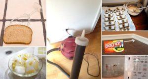 easy cleaning hacks