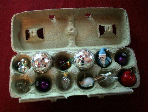 egg carton ornament store