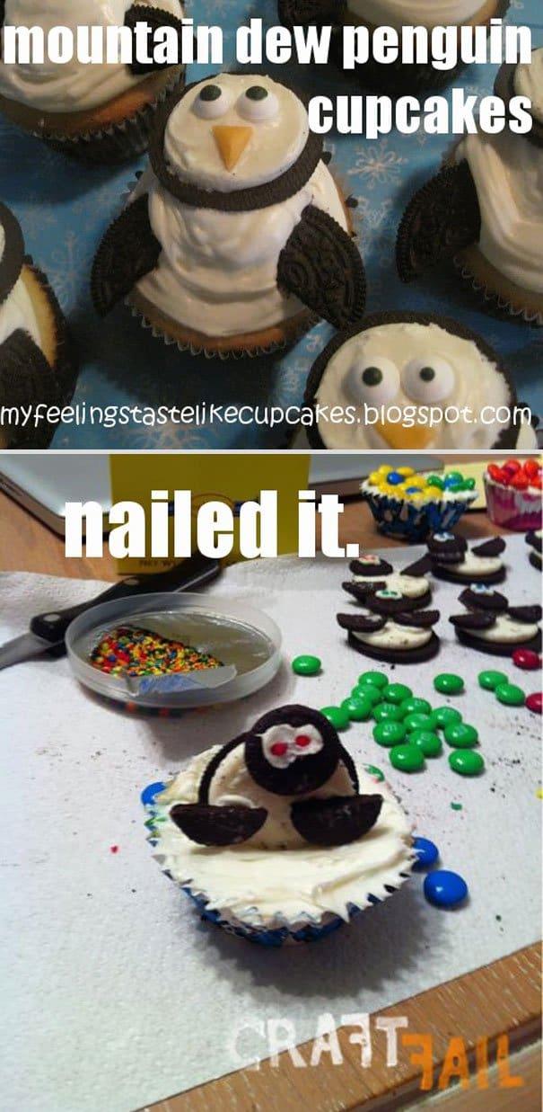 fails-penguin-cupcakes