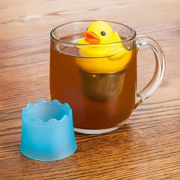 floating duck infuser