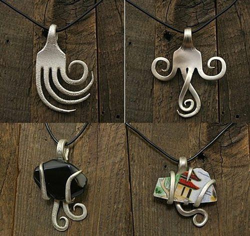 fork pendants