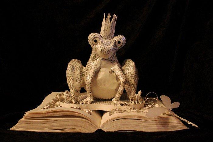 frog prince book art