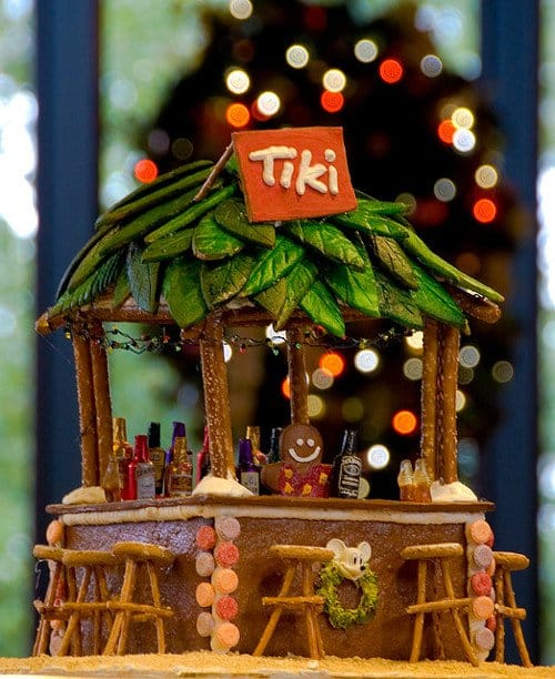gingerbread polynesian hut