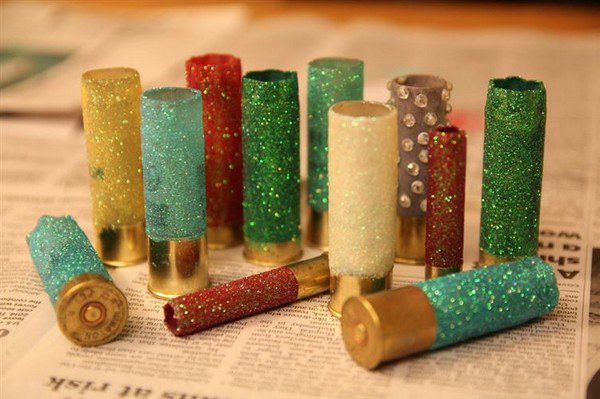 glitter shotgun casings
