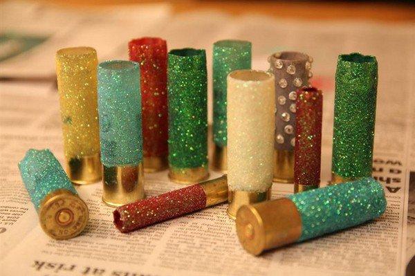 glitter shotgun casings