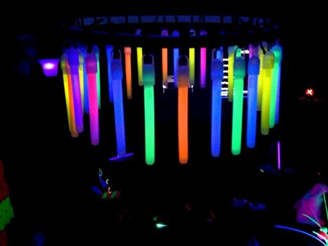 glow-stick-chandelier