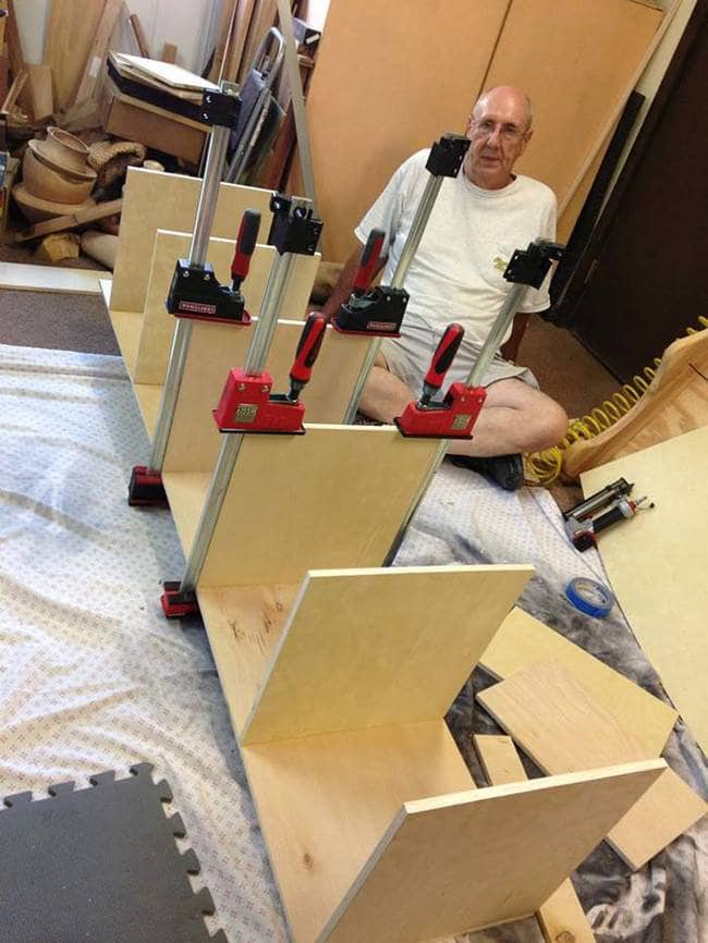 gluing clamps