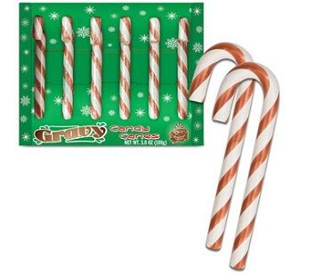 gravy candy canes flavored