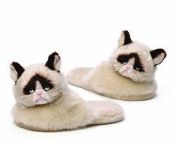 grumpy cat slippers