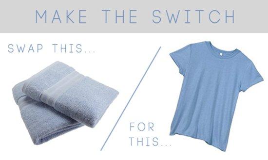 hair-dry-t-shirt