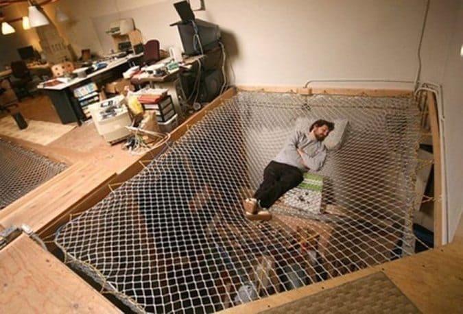 hammock-bed