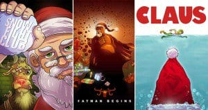 hollywood movie santa titles