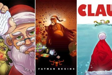 hollywood movie santa titles