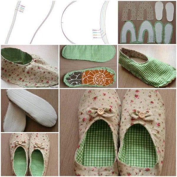 homemade slippers
