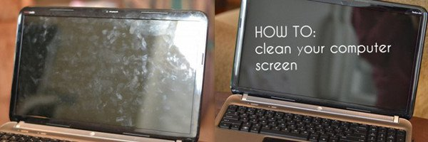 how to clean computer screen and keyboard