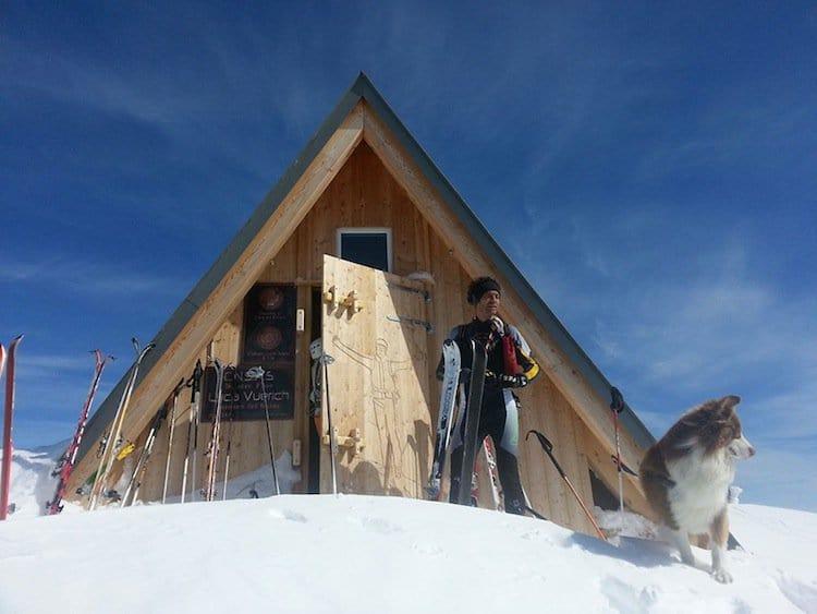 hut-skis