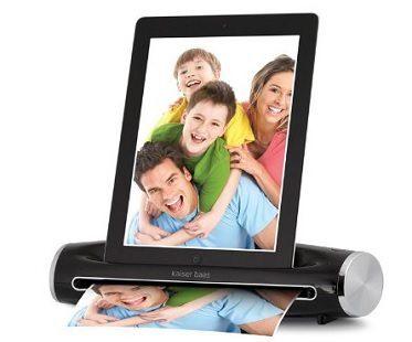 iPad photo scanner