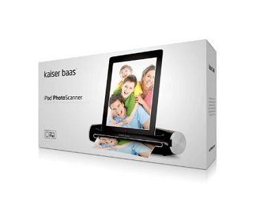 iPad photo scanner box
