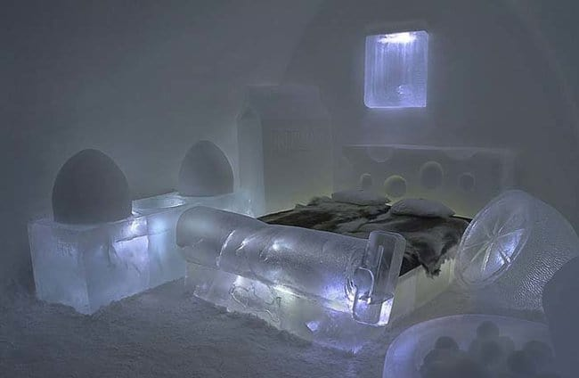 ice-bed