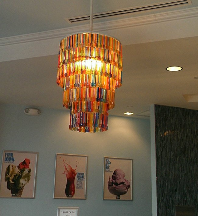 20 Creative Chandelier Designs Made From Unexpected Items