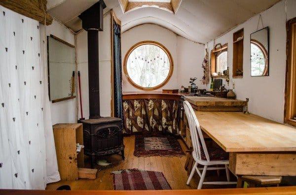 inside wagon woods