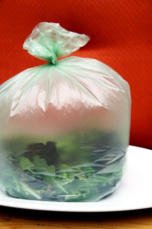 keep greens fresh