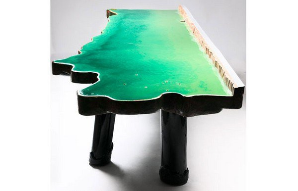 lake table