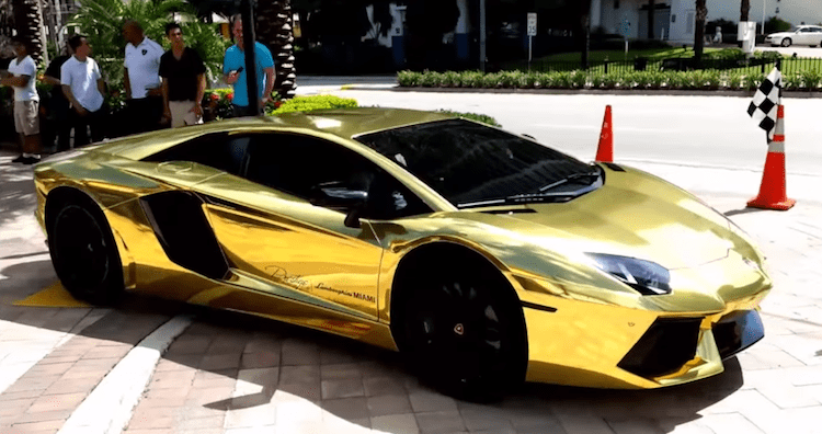 This Gold Plated Lamborghini Will Blow You Away