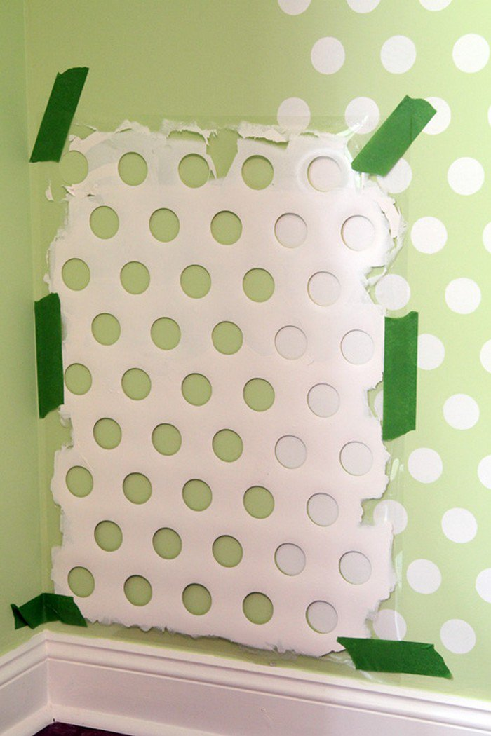 laundry basket stencil
