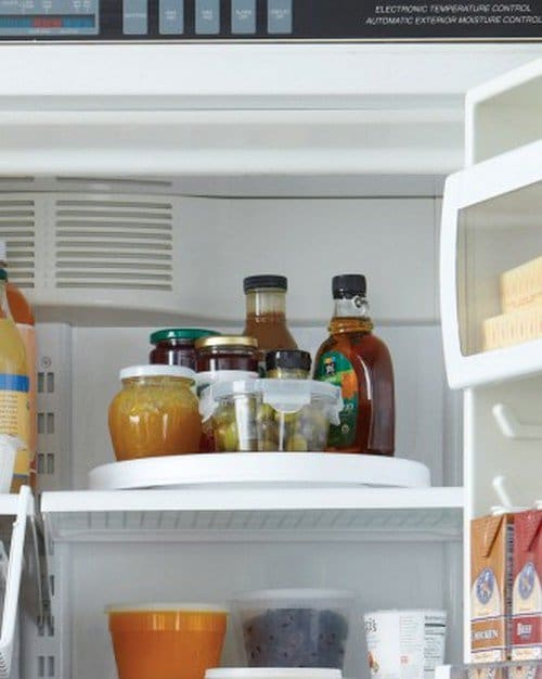 lazy susan fridge