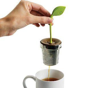 leaf tea infuser strain