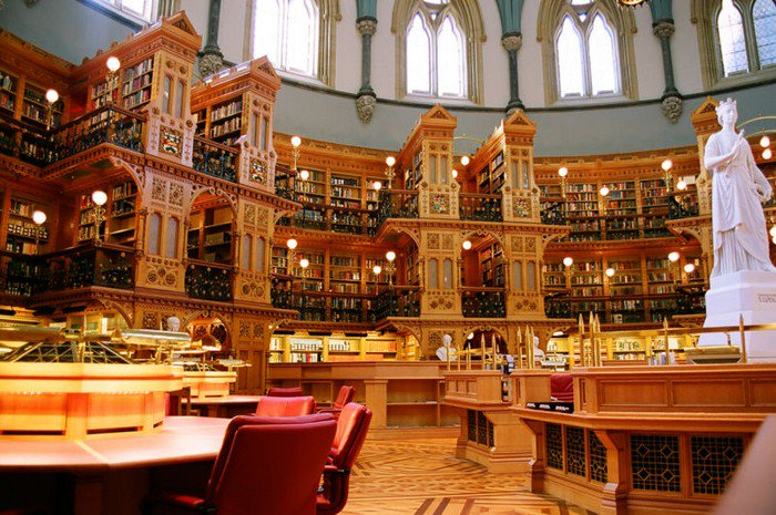 library canadian parliament